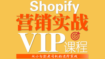 Shopify实战营销VIP课程-(Facebook/SEO/SEM/Amazon)