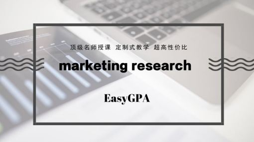 marketing research 海外辅导