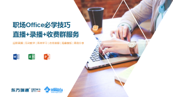 VIP职场办公office必学/word/excel/PPT/VBA/Power BI-东方瑞通