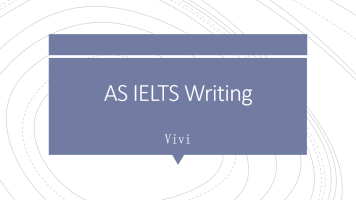 AS IELTS Writing