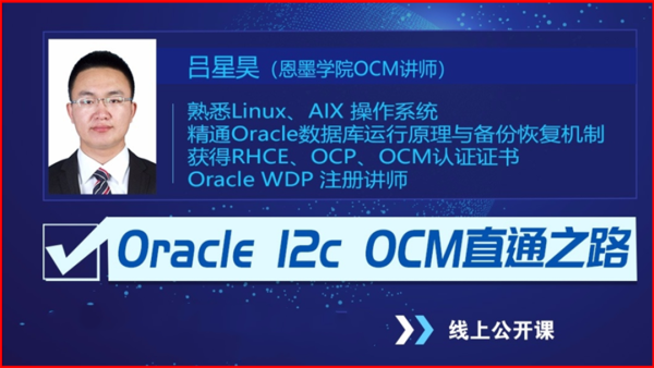 Oracle 12C 高手之路