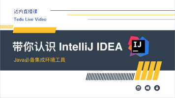 带你认识intelliJ IDEA