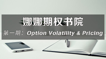 娜娜期权书院第一期:Option Volatility and Pricing