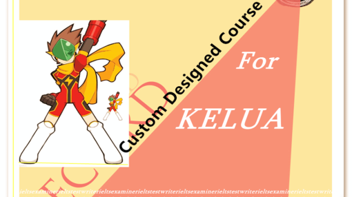 Custom Designed Course for Kelua