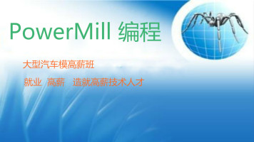 PowerMill 编程