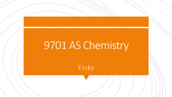 9701 AS Chemistry 10-P1章